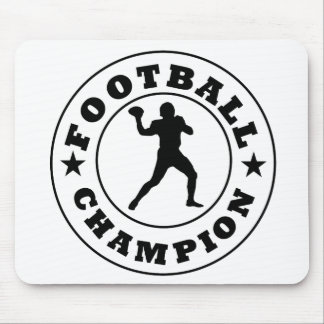 Football Champion Mousepad