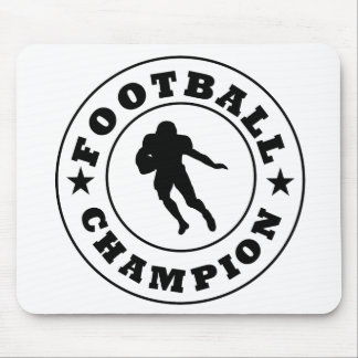 Football Champion Mouse Pads