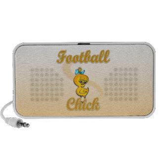 Football  Chick iPod Speakers