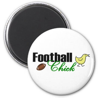 Football Chick Magnet