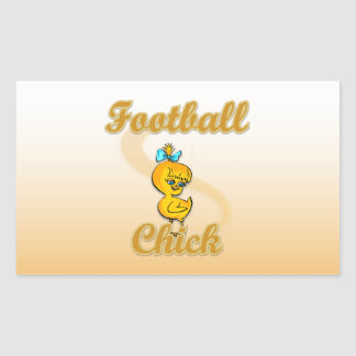 Football Chick Stickers