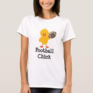 Football Chick T shirt