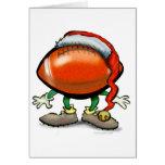 Football Christmas Card