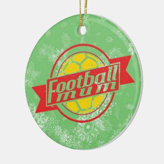 Football Christmas Tree Decoration, Footy Mum Ornament