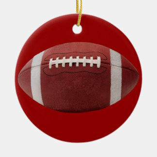 Football Christmas Tree Ornament