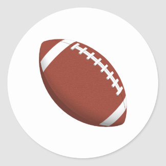 Football! Classic Round Sticker