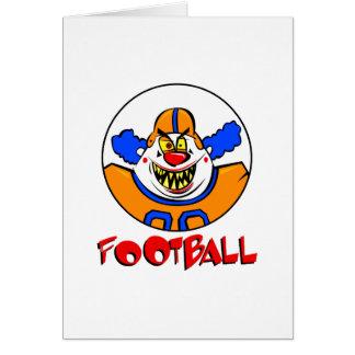 Football Clown Cards