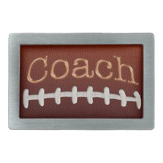 Football Coach Belt Buckle