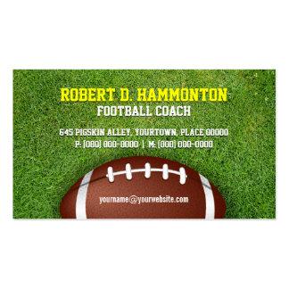 Football Coach Business Card Templates