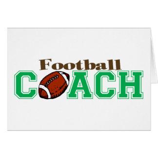 Football Coach Greeting Card