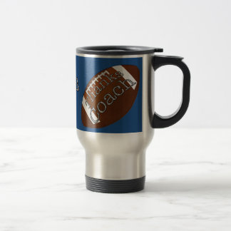 Football Coach Gift Ideas Change to Team COLOR Travel Mug