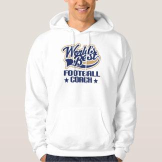 Football Coach Gift (Worlds Best) Hoodie