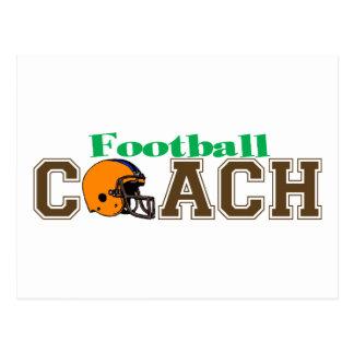 Football Coach (Helmet) Postcard