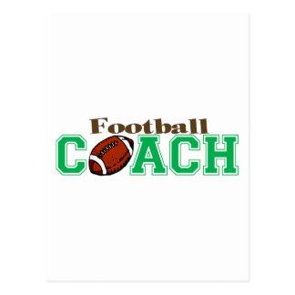 Football Coach Postcard