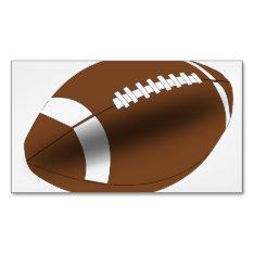 Football Coach School Teacher Team Sports Business Card Magnet at Zazzle