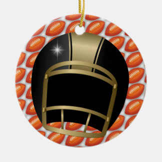 Football Coach - SRF Christmas Ornaments