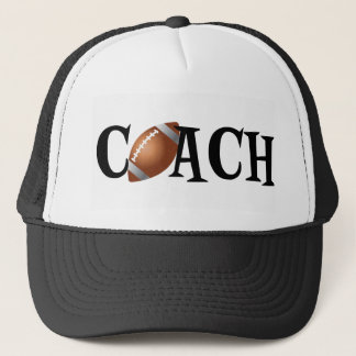 Football Coach Trucker Hat