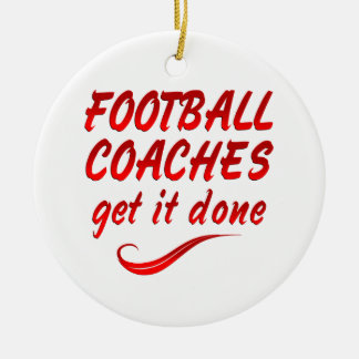 Football Coaches Get it Done Ornament