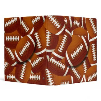 FOOTBALL COLLAGE binder