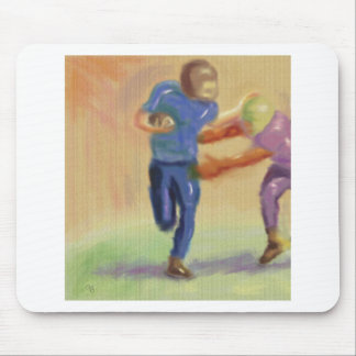 Football Confrontation Mouse Pad