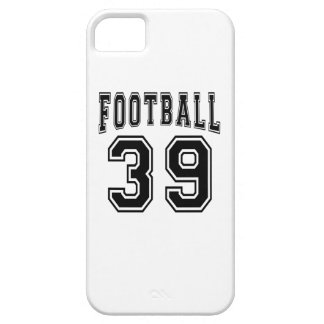 Football Crazy 39 Birthday Designs iPhone 5 Case