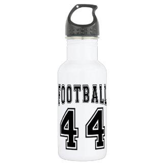 Football Crazy 44 Birthday Designs 18oz Water Bottle