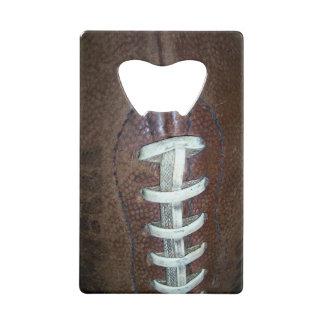 Football Credit Card Bottle Opener