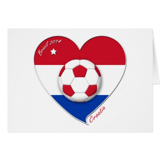 "Football ""CROATIA"" Soccer Team Fútbol Croacia 2014 Tarjetas"