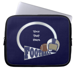 Football (customizable) laptop sleeve