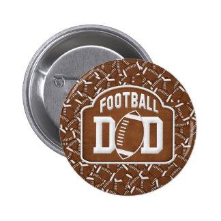 Football Dad 2 Inch Round Button