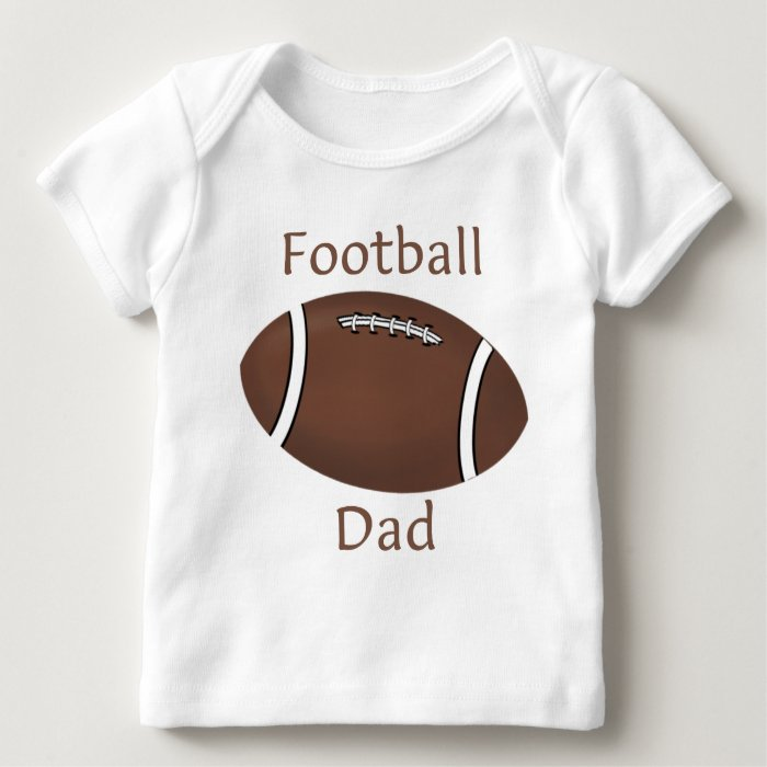 Football Dad Baby T-Shirt