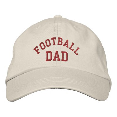 Football Dad Embroidered Hat