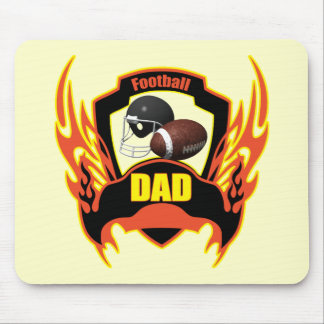Football Dad Fathers Day Gifts Mouse Pad