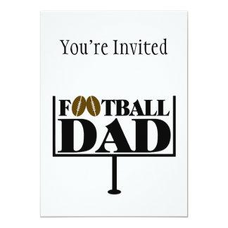 Football Dad Goal Post Card