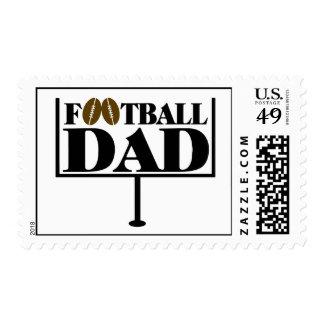 Football Dad Goal Post Postage