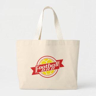 Football Dad Large Tote Bag