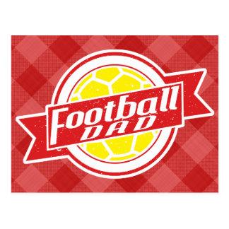 Football Dad Postcard