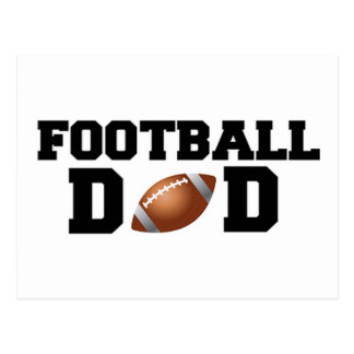 Football Dad! Postcard