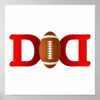Football Dad Poster