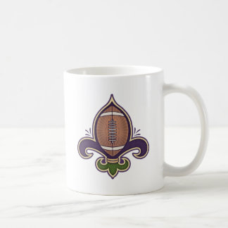 Football de Lis Classic White Coffee Mug