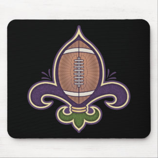 Football de Lis Mouse Pad