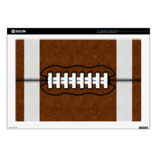 """Football Decal For 17"""" Laptop"""