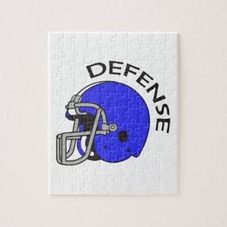 FOOTBALL DEFENSE PUZZLES
