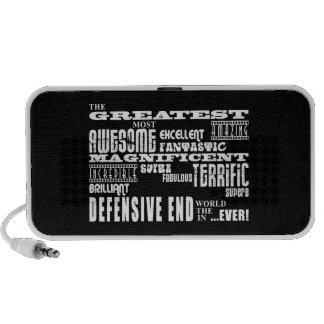 Football Defensive Ends : Greatest Defensive End iPod Speakers