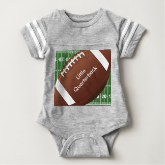 Football Design Baby One-Piece Baby Bodysuit