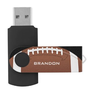 Football Design Flash Drive
