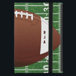 "Football Design iPad Air Case<br><div class=""desc"">Fotball Design iPad Air Case with customizable text.  For no text,  delete sample text and leave blank.</div>"