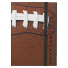 Football Design iPad Air Case at Zazzle