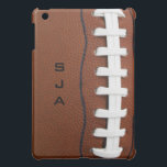 """Football Design iPad Mini Case<br><div class=""""desc"""">Football Design iPad Mini Cover Case.  For no personalization,  delete sample text and leave text field blank.</div>"""