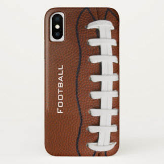 Football Design iPhone X Case